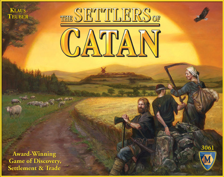 Settlers of Catan Box